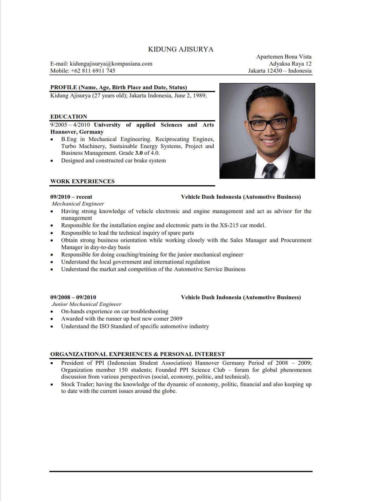 cara membuat resume lepasan spm format resume