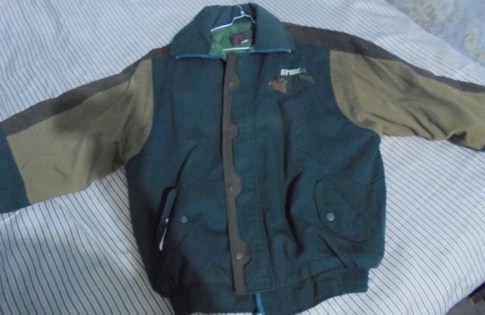 Jacket kenangan dari koh Yo In (foto: bamset)