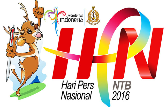 Logo HPN 2016 di Nusa Tenggara Barat. (Sumber: metropolitan.id)