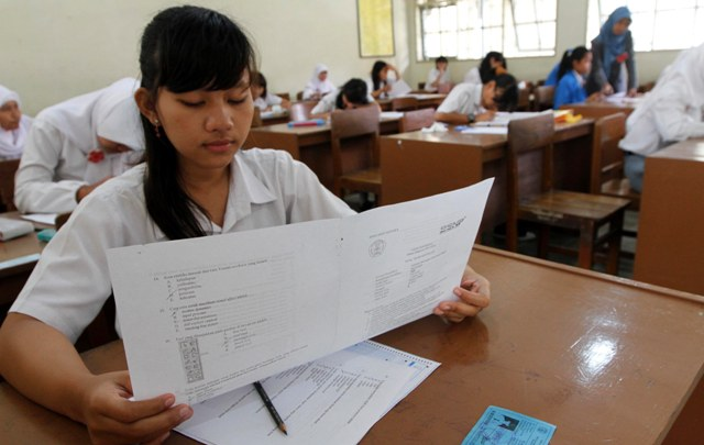 Image result for ujian nasional
