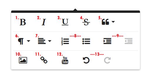Gambar 2. Perangkat Formatting Toolbar