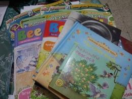 Sebagian buku-buku yang saya sumbangkan ke KandangBokoe/Ketjel Zagoto/facebook.com