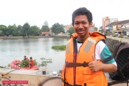 Reihan, Koordinator Moonpala atau Muncul Serpong Pecinta Alam dari SMAN 2 Tangsel. (Foto: Gapey Sandy)