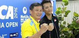 Ihsan Maulana dan Hendri Saputra/badmintonindonesia.org