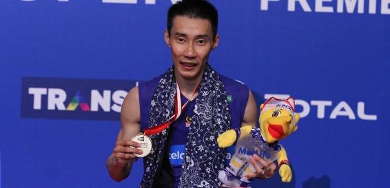 Lee Chong Wei merengkuh gelar Indonesia Open ke-6/badmintonindonesia.org
