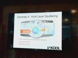 Teknologi dalam V-Kool (dok.yayat)