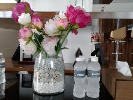 Air minumnya merk V-Kool (dok.yayat)