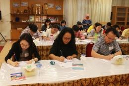 Uji Kemahiran Berbahasa Indonesia bagi Penutur Asing.