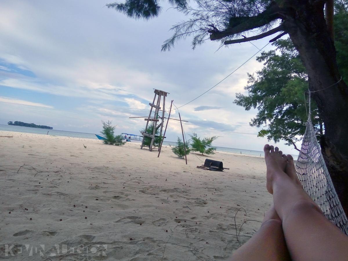 Gegoleran di Pulau Gleyang