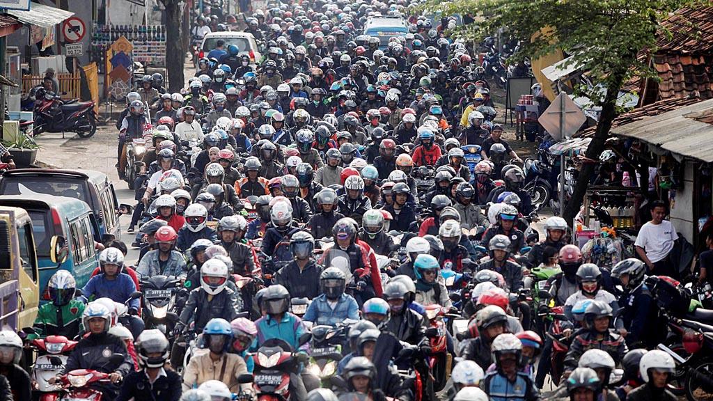 Sepeda Motor di Indonesia
