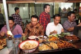 Presiden Jokowi dan Gubernur Ahok I Sumber Soloraya.com