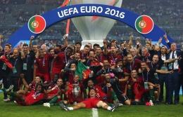 PHILIPPE DESMAZES/AFP Portugal menjadi juara Piala Eropa 2016