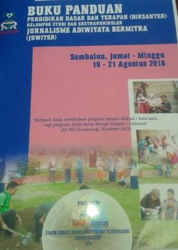 Photo Buku Panduan Diksanter