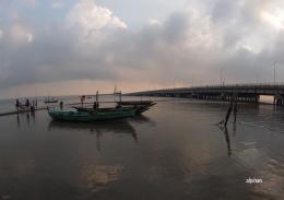 Pemandangan pagi di Jembatan Suramadu (Dok Pribadi)
