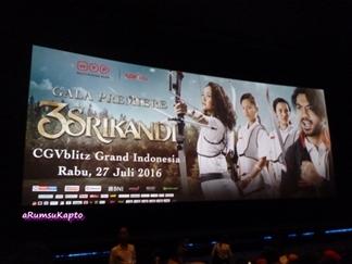 Gala Premiere Film 3 SRIKANDI di CGV GI (Dokpri)