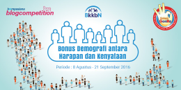 Kompasiana Blog Competition bersama BKKBN