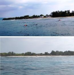 Pulau Gili Meno (koleksi pribadi)