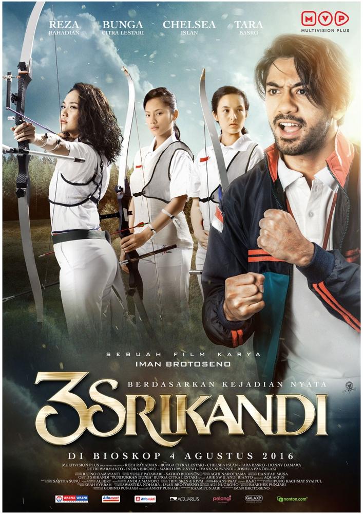 3 Srikandi. Foto: Dok. http://www.21cineplex.com/