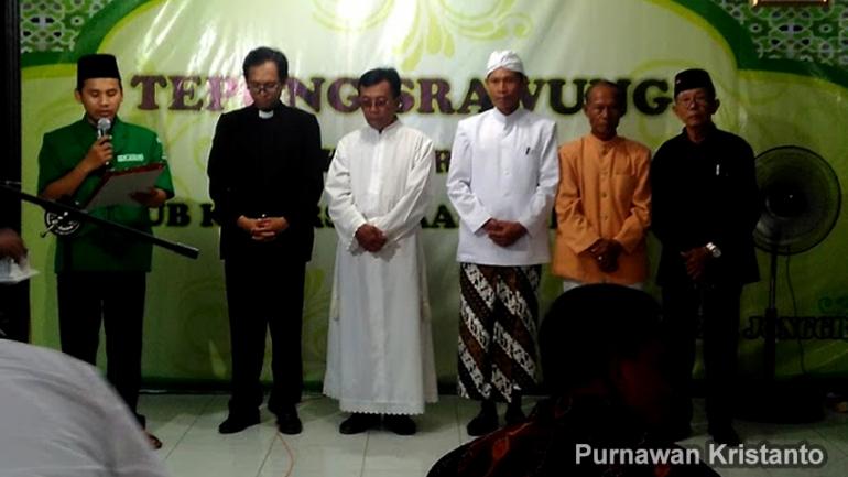 Doa bersama umat Islam,Kristen, Katolik, Hindu, Budha & Penghayat