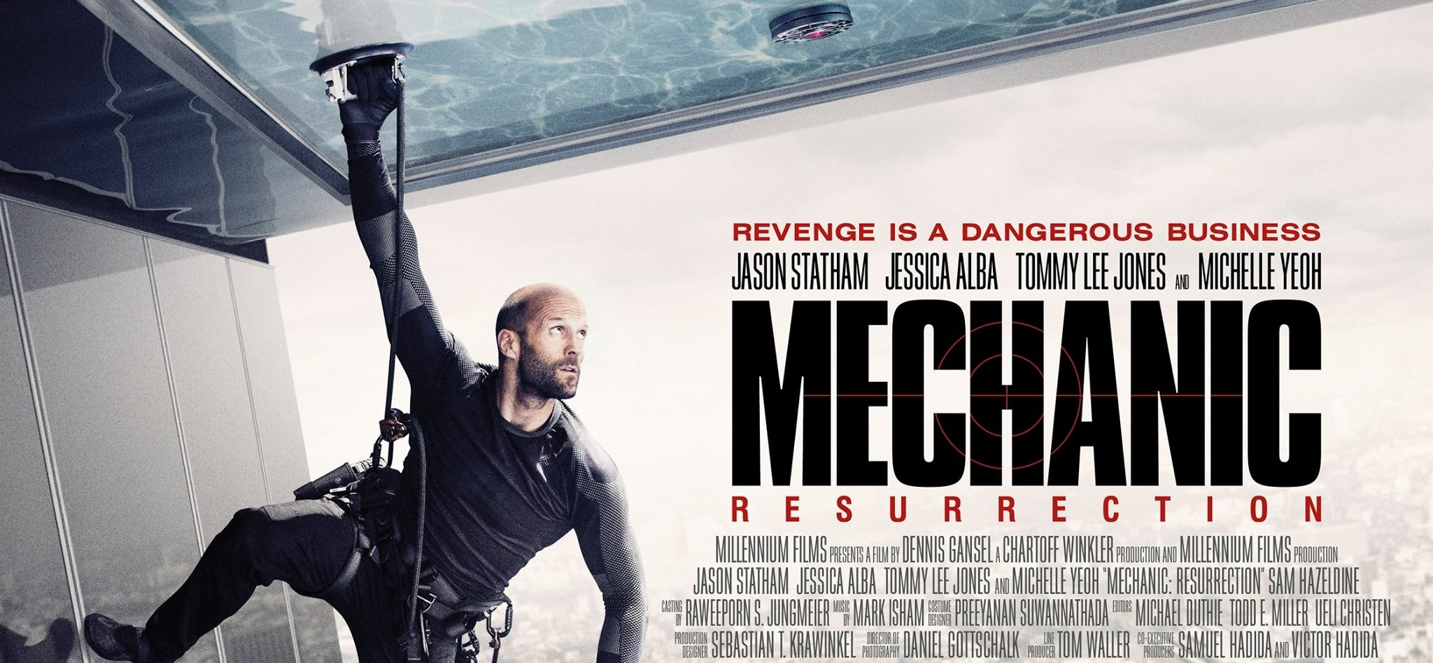 Poster film Mechanic Resurrection (Sumber: Lionsgate)