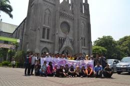 Dok. Pri | Kunjungan Pemuda Lintas Iman Ke Salah Satu Katedral.