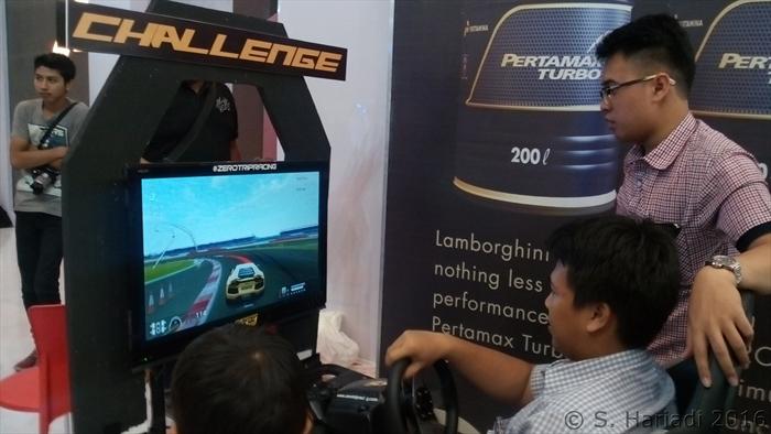 Simulator Lamborghini (dok. pribadi)
