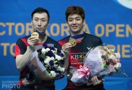 Lee/Yo dan gelar terakhir mereka di Korea Open 2016/@YonexAllEngland.