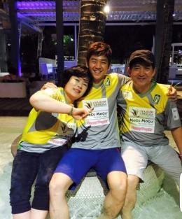 Lee Yong-dae bersama orang tua/@LYDSparkers