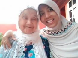 Salam Senyuman Hangat dari Nenek Berusia Seabad di Kota Padangsidimpuan untuk Semuanya (Dok. Rodame)