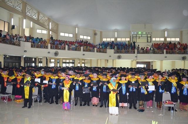 Prosesi Wisuda Universitas Mataram, 24 Oktober 2016