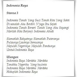 Lirik Lagu Indonesia Raya Mengandung Alur Filosofi Yang Berkesinambungan Untuk Persatuan Indonesia Halaman 1 Kompasiana Com