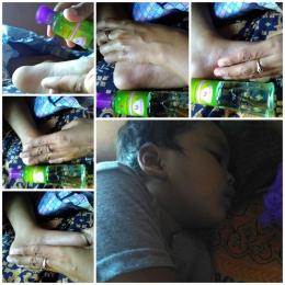 Tubuh Mikal Hangat dan Tertidur Pulas Setelah Dipijat dengan Minyak Ekaliptus Aromatherapy Lavender (Dok. Rodame)