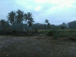 Hujan Turun Sepanjang Hari di Kampus IAIN Padangsidimpuan (Dok. Rodame)