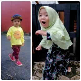 Anaku, Gaga dan Gege, Pengguna Produk Cap Lang (Foto Pribadi)