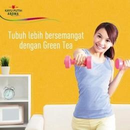 Green tea tidak hanya enak dikonsumsi dalam bentuk es krim dan cake, tapi aromanya juga sangat membangkitkan semangat. Foto dari FP Teman Hati