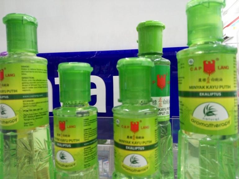 Kayu Putih Aromatherapy Ekaliptus sangat membantu untuk meredakan gejala flu (dokpri)