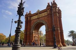 Arc Triomf Barcelona (dok pribadi)
