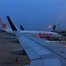 Foto Pribadi : Pesawat Terpagi