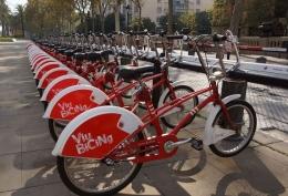 Sepeda kota langganan, sayang sistem bayarnya tahunan (dok pribadi)
