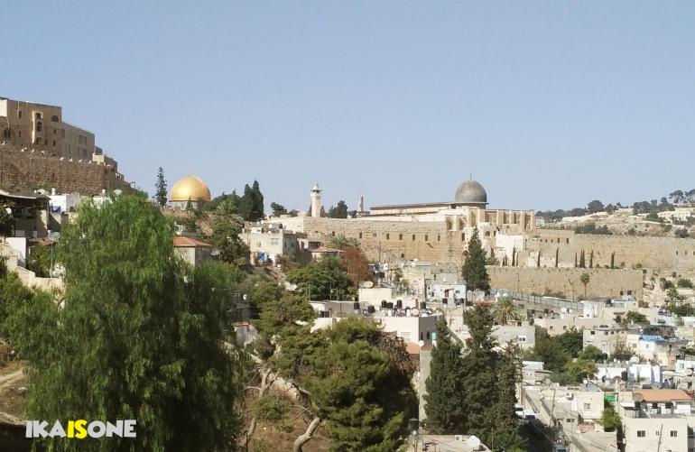 Pemandangan kota Yerusalem (Dokumentasi Pribadi)
