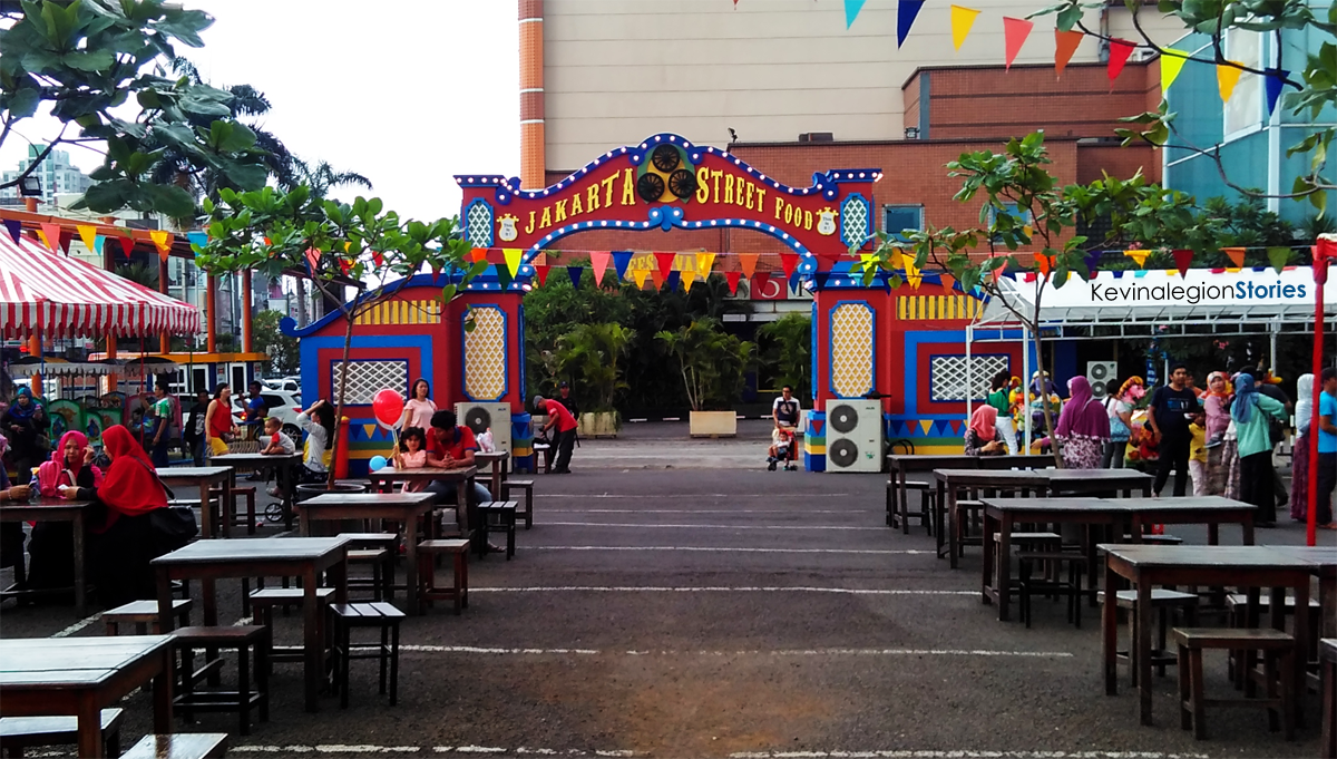Jakarta street food festival tahun ini digelar di Mall Kelapa Gading La Piazza