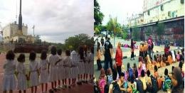 Wisata edukasi yang dilakukan pada anak-anak sekolah saat mengunjungi kapal PLTD apung (foto dok pri).