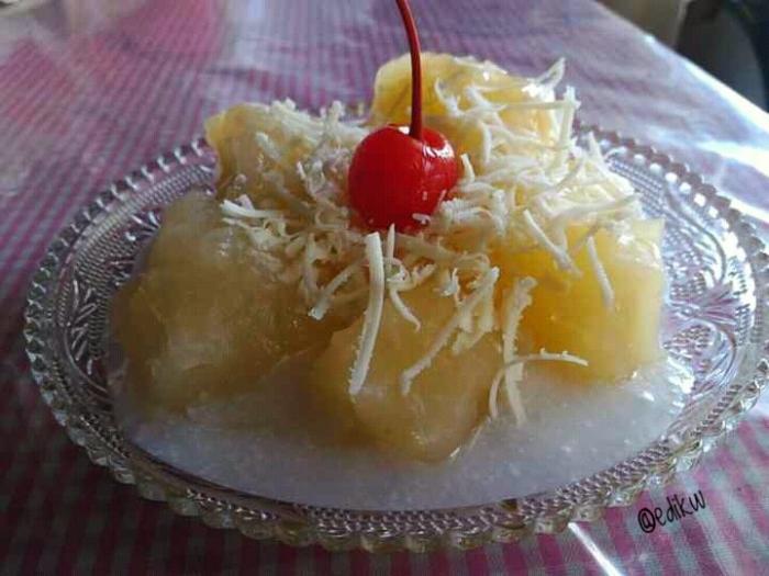 Sweet Cassava atau Singkong Thailand ala saya (dok.pri)
