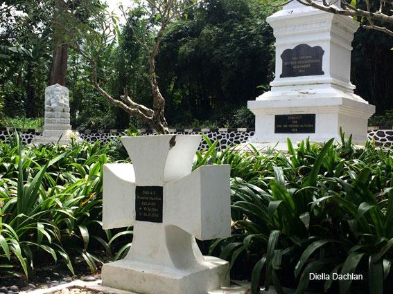 Makam Jerman di Desa Sukaresmi, Kecamatan Megamendung, Kabupaten Bogor