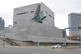 Gedung Perot Museum of Nature & Science, Dallas, Texas (dokumentasi pribadi)