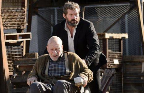 Hugh Jackman dan Patric Stewart dalam