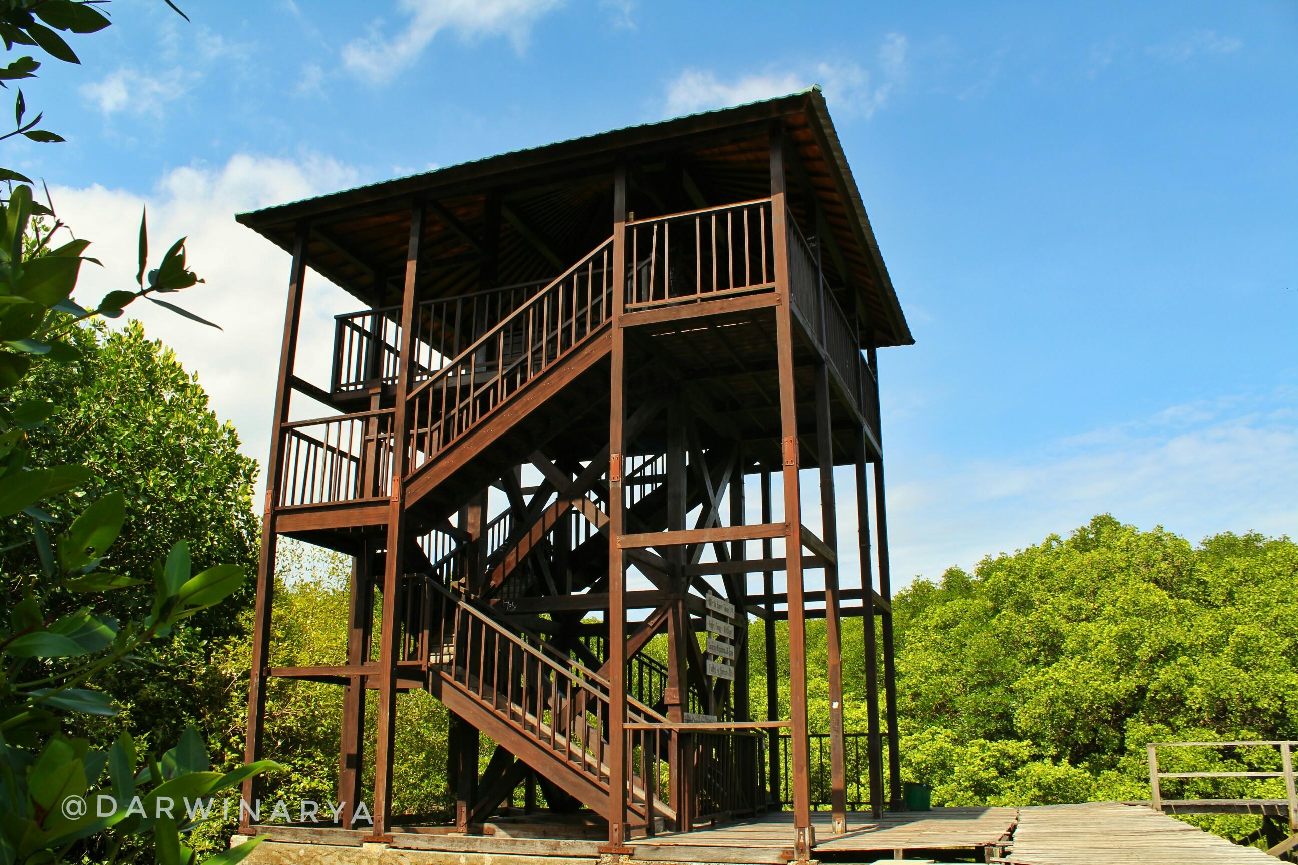 Tempat Istirahat Berupa Tower. Tingginya Mencapai 10.45 meter / dap