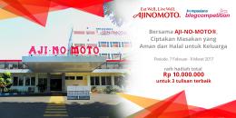 Blog Competition AJI-NO-MOTO®