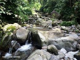 Aliran sungai Ciapus alit