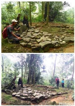 Situs pertama yang terdekat dari kampung